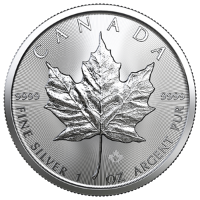 Silver Coins Maple Leaf